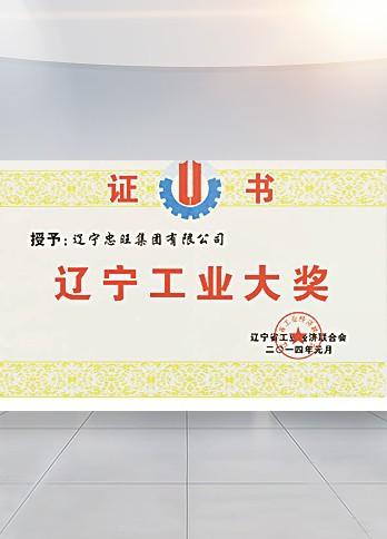 辽宁工业大奖