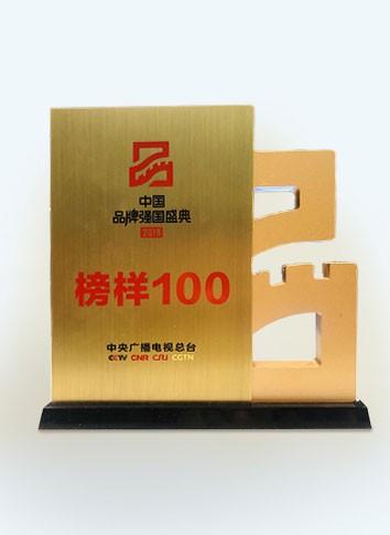 """中央广播电视总台""""榜样100""""品牌"""